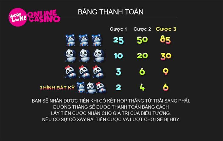 panda slot game
