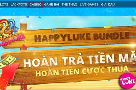 Giới thiệu sảnh Live Casino tại Nhà CáiHappyluke
